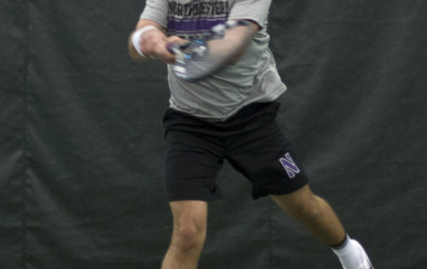 Senior Raleigh Smith was one of three Northwestern tennis players to see their singles careers end Wednesday at the NCAA Singles Championships. Belinda Niu and Veronica Corning lost in the first round of the women's draw.