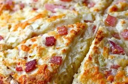Cooking and Recipes: Ham and cheese scones