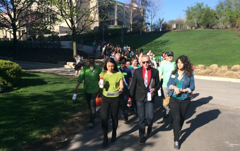 Northwestern students march to reduce mental health stigma