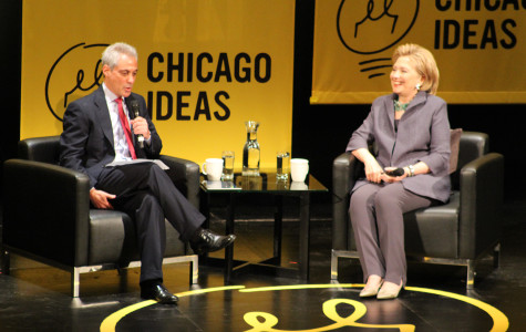 Former Secretary of State Hillary Clinton returned to her hometown of Chicago for the beginning of the national tour of her new memoir,