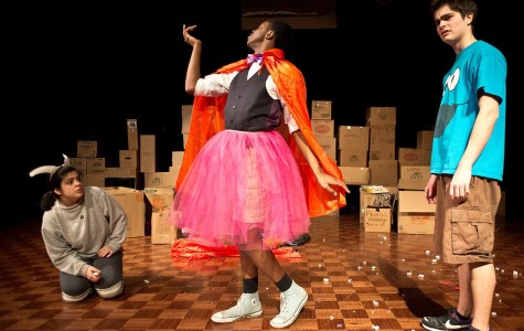 Reno, played by Communication freshman Treyvon Thomas, learns to stand up for himself and his dresses.