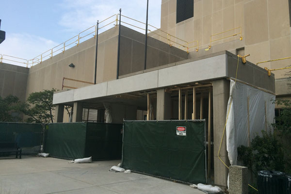 Northwestern is undergoing several construction projects this summer. These include both longer-term renovations in addition to short-term projects.