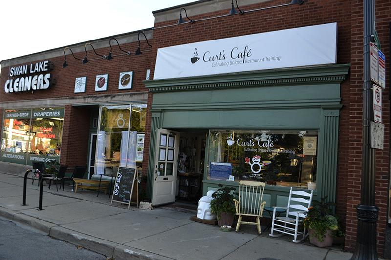 Curt's Cafe, located at 2922 Central St., helps train at-risk youth. Two Evanston residents started a fundraising campaign to open a second Evanston storefront for the cafe.