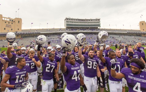 Captured: Northwestern football tops Western Illinois 24-7