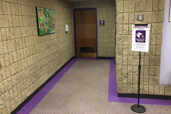 Norris University Center officials announced in July the building's third floor multi-stall bathrooms would be converted to gender-open bathrooms. However, University spokesman Al Cubbage said all the new gender-open bathrooms will be single-person bathrooms.