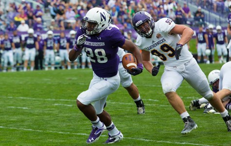 Football: Freshman running backs make the difference for Northwestern