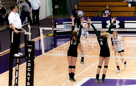 Volleyball: Close victory over Ohio advances Northwestern to 9-1