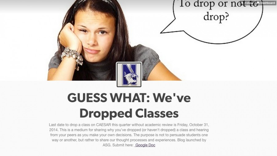 Asg Tumblr Challenges Stigma Surrounding Dropped Classes