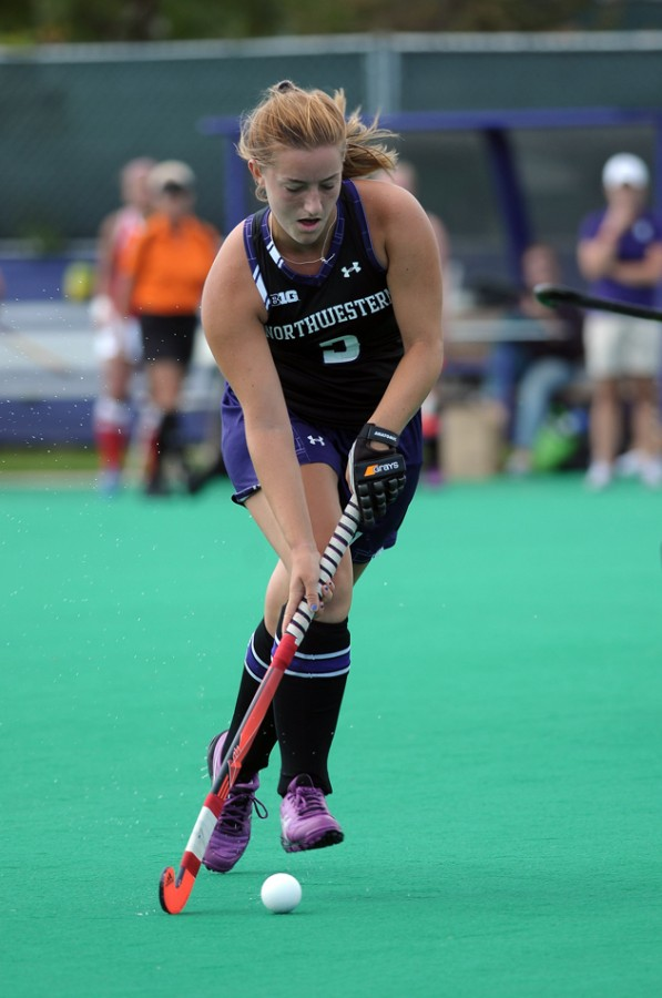 Sophomore Dominique Masters is tied for the Wildcats' team lead in goals with 10. Northwestern returns home after five straight road games to face Ohio State at Lakeside Field.