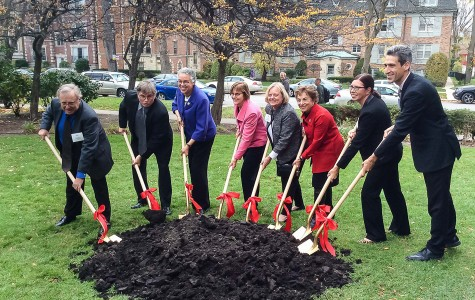 City, county, state and national officials take part in the groundbreaking ceremony for two Evanston housing project apartments. The units, located at 1900 Sherman Ave. and 2300 Noyes Court, are undergoing a $25.7 million renovation in order to better house low-income senior citizens and people with disabilities.