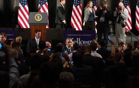 Captured: Obama's visit to Northwestern