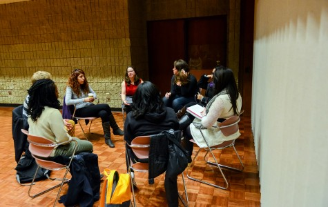 Students discuss issues of income inequality at a talk hosted by the Quest Scholars this past April. Quest Scholars' newly formed Advocacy Committee will meet for the first time Saturday to discuss socioeconomic issues.