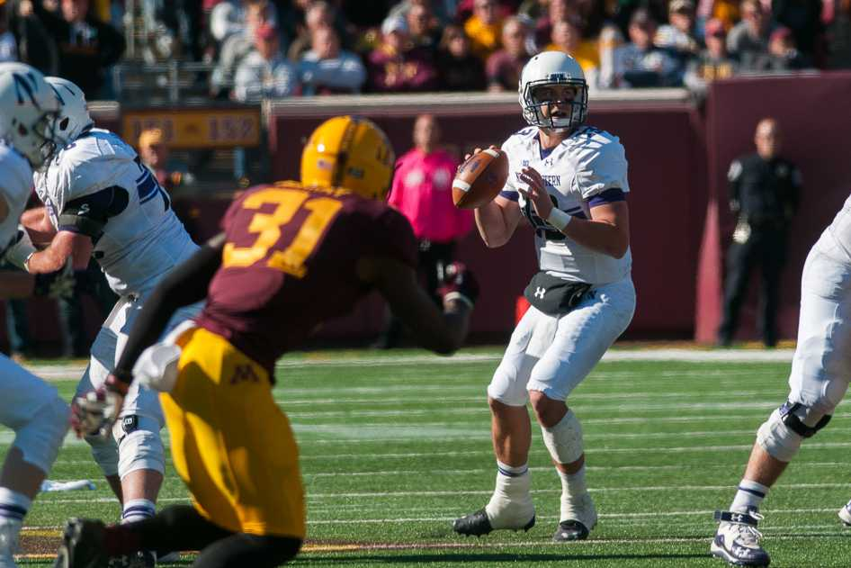 Senior quarterback Trevor Siemian completed 32 of 50 passes for 269 yards, but that wasn't enough for Northwestern on Saturday. Issues in the passing game, particularly downfield, helped doom the Wildcats to their 24-17 loss to Minnesota.