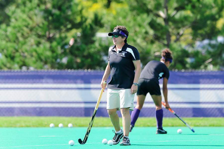 Field Hockey coach Tracey Fuchs reflects on how practice during COVID-19 is going.