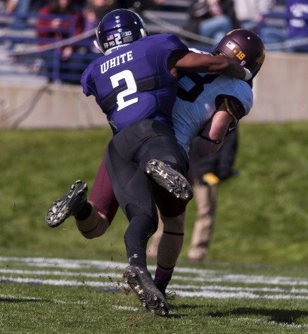 Northwestern CB Dwight White to retire after discovery of rare condition