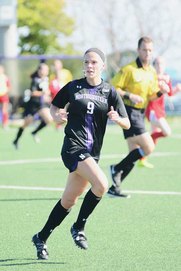 Junior Niki Sebo took three shots in Northwestern's 2-0 loss to Ohio State. The midfielder was one of several Wildcats players to create offensive opportunities but fail to score.