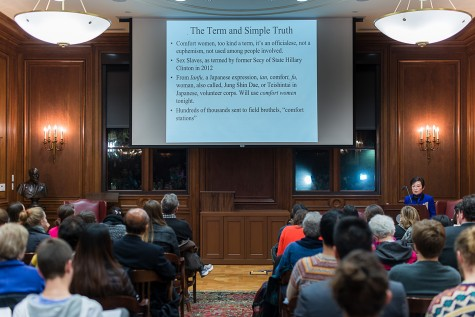 Retired Georgetown professor gives lecture on WWII 'comfort women'