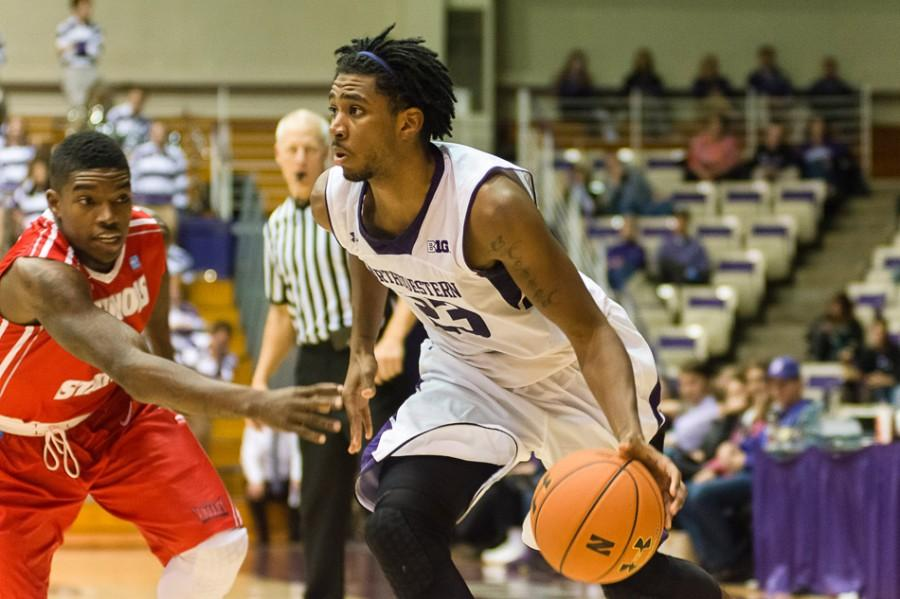 Senior+guard+JerShon+Cobb+is+the+Wildcats%27+top+returning+scorer+with+12.2+points+per+game.+Coach+Chris+Collins+expects+him+to+once+again+be+one+of+the+team%27s+top+offensive+weapons.