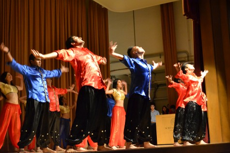 Student groups compete in 'NU Think U Can Dance?' charity event