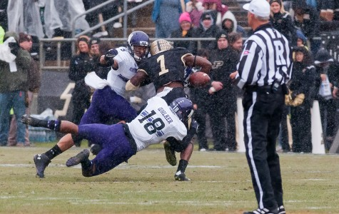 Football: Quick start springs Northwestern past Purdue