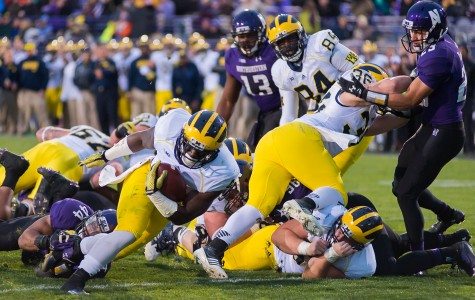 Football: Northwestern falls to Michigan after late two-point conversion attempt slips away