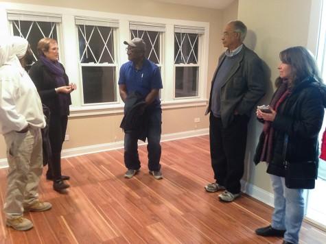 Nonprofit renovates affordable housing unit