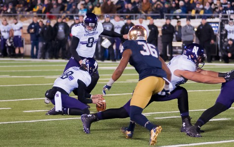 Rapid Reaction: Northwestern 43, No. 18 Notre Dame 40
