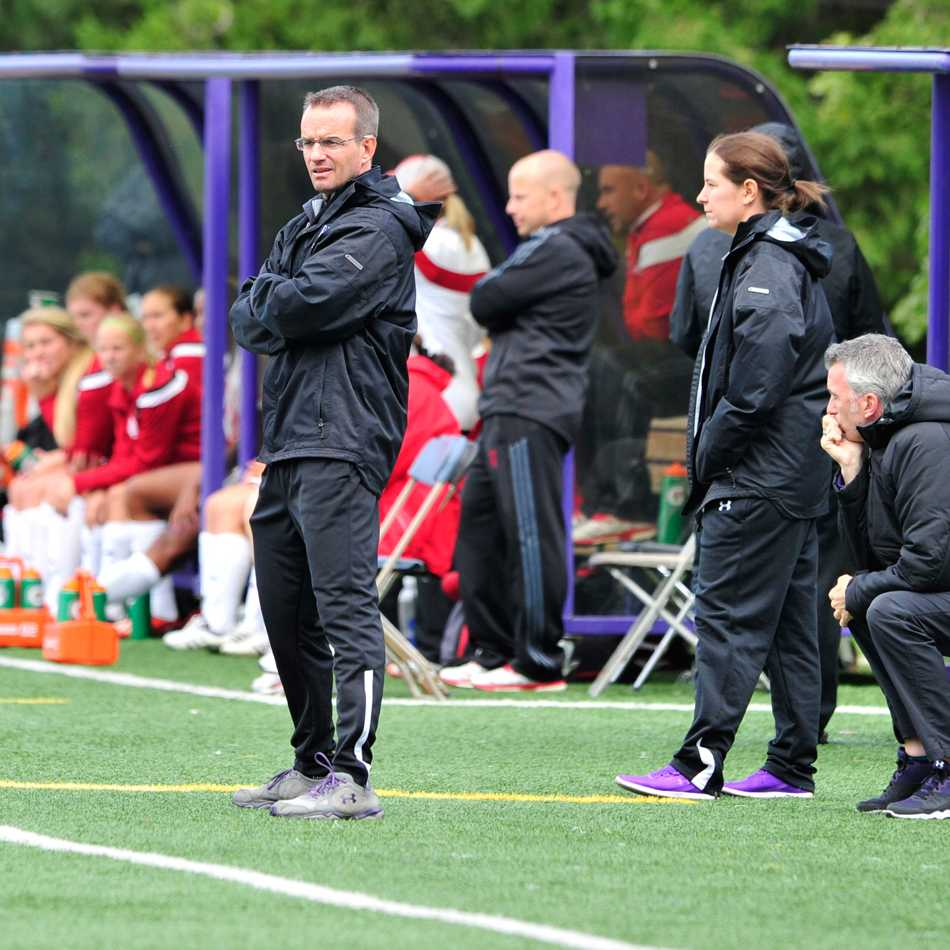 This season, Michael Moynihan led the Wildcats to their first above-.500 season since 2008. He said there's finally a sense of expectation and excitement around the women's soccer program.