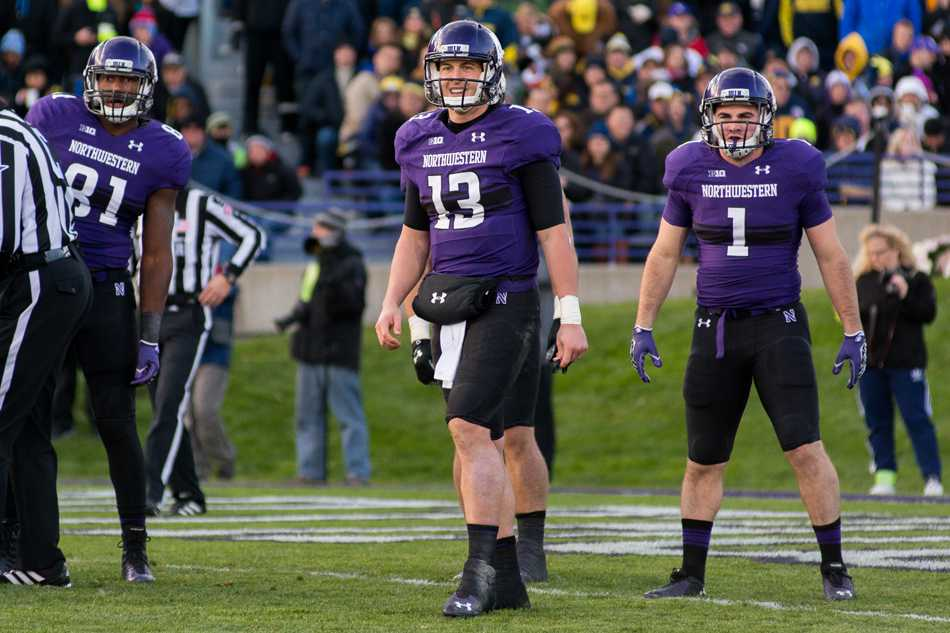 Senior quarterback Trevor Siemian (13) and the Northwestern offense will need to seize every opportunity against the Fighting Irish. Notre Dame is the toughest team on the Wildcats' schedule.