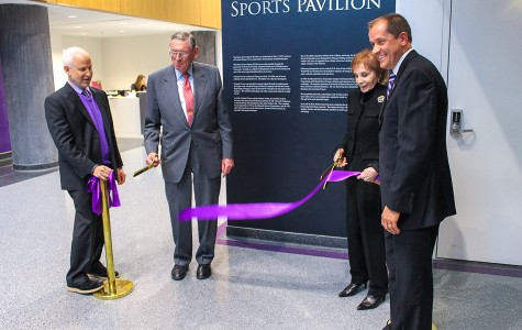 University dedicates new lakeside athletic facilities