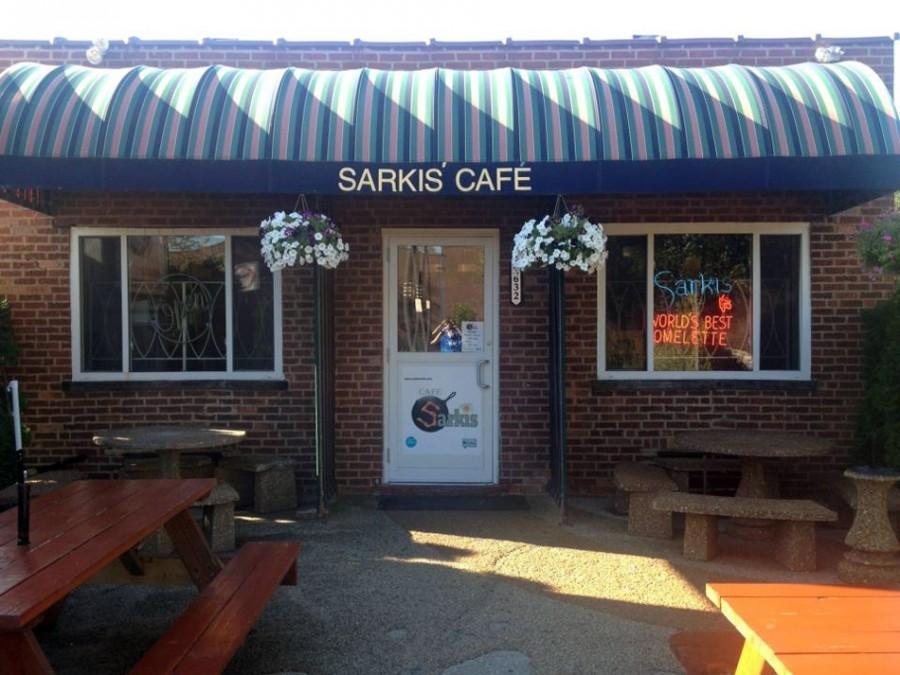 Sarkis Cafe, an Evanston restaurant, is located at 2632 Gross Point Road. Marla Cramin, the owner of Sarkis, filed a lawsuit against her brother saying he is claiming a false affiliation with the cafe in a new restaurant he's planning to open.
