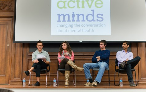 Students discuss experiences with mental health at annual panel