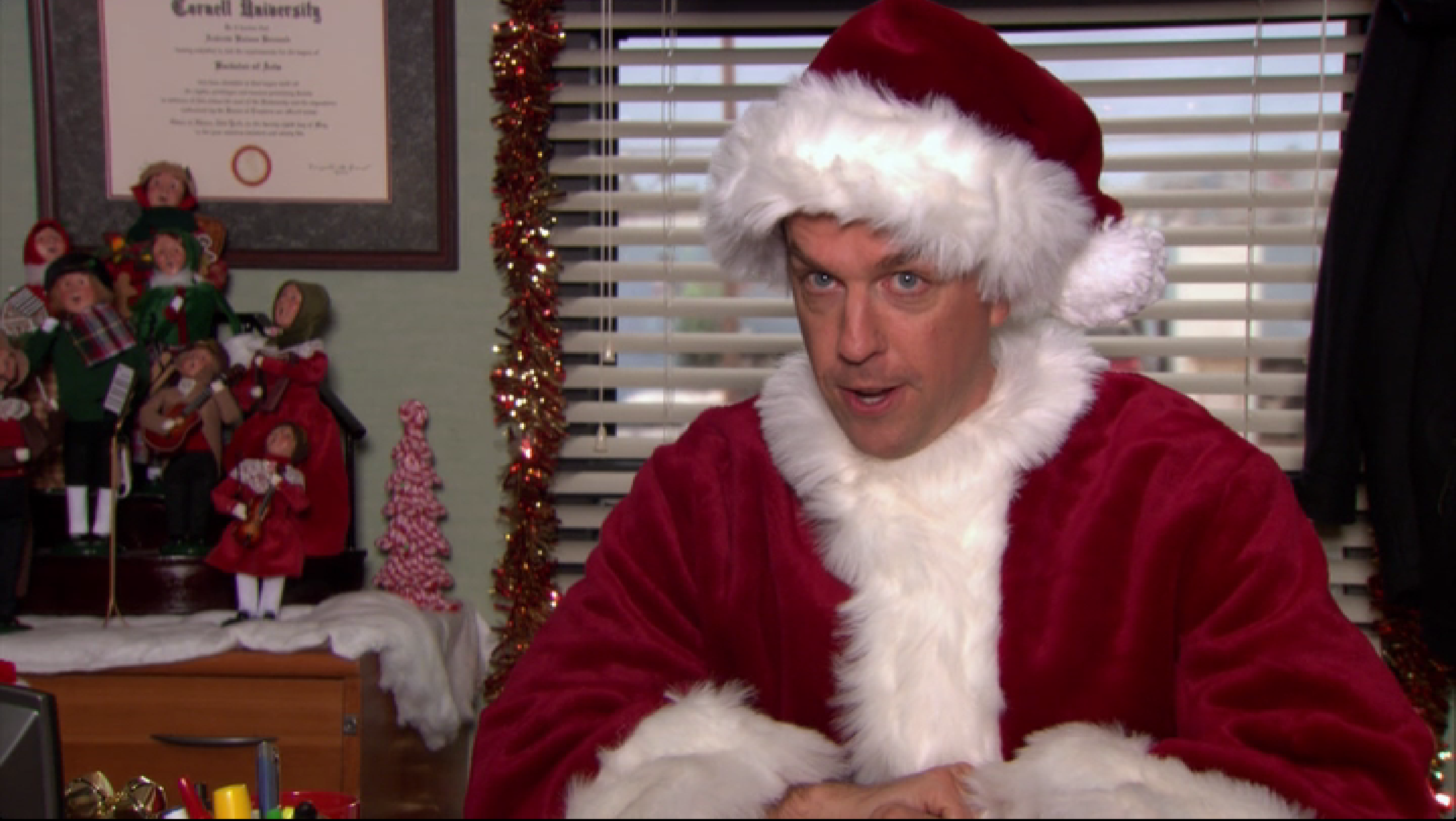 season nine dwight christmas - The Office Christmas Episodes