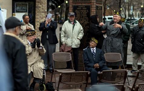 Evanston Veterans Day celebration honors service members