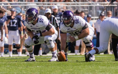 Football: Vitabile irreplaceable as Northwestern's man in the middle