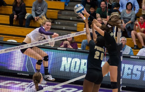 Volleyball: Wildcats hope to recover in rematch against Boilermakers