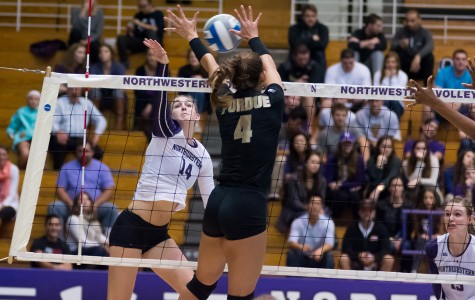 Volleyball: Wildcats' offense continues to struggle in loss to Michigan State
