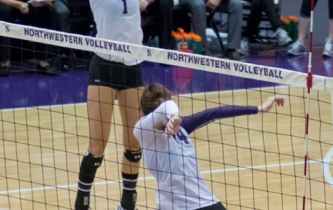 Volleyball: Northwestern suffers disappointing loss to Illinois