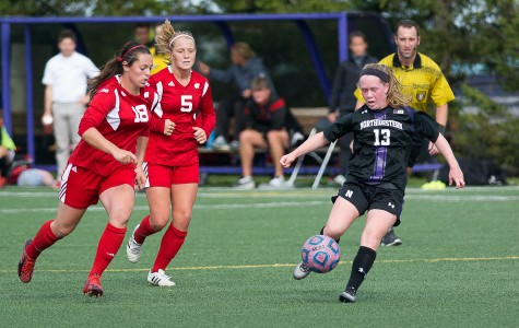 Freshman Michelle Manning, whose goal Saturday earned Northwestern a spot in the Big Ten Tournament, lifted the Wildcats to victory again Tuesday. Manning scored in the 69th minute to give NU a shocking 1-0 win over Penn State.