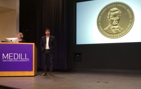 James Foley, Matthieu Aikins awarded Medill Medal for Courage