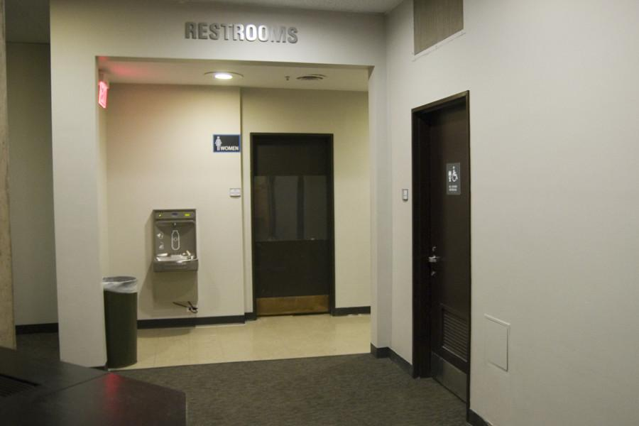 The first gender-open restroom in University Library is now available for use.