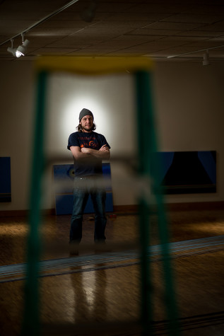 Artist recreates Northwestern sunrise, sunset inside Dittmar Gallery