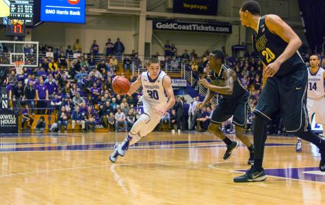 Men's Basketball: Poor second half dooms Wildcats in loss to Boilermakers