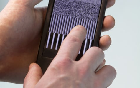 McCormick students create haptic phones to deliver sense of touch to screens