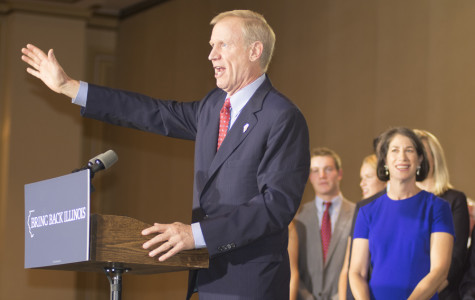 New Illinois Gov. Bruce Rauner announces executive actions at inauguration