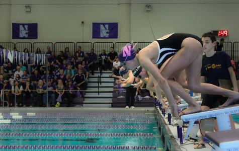 Swimming: Wildcats impress, split foes in Ann Arbor