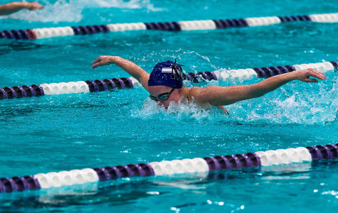 Women's Swimming: Wildcats overcome 32-point hole, fly past Hawkeyes