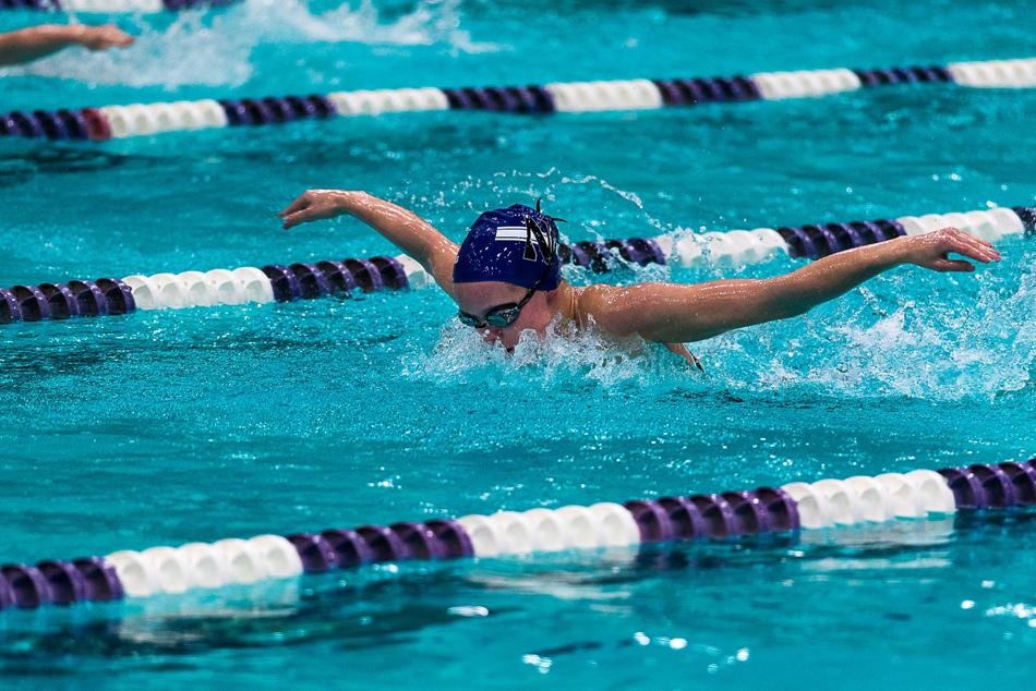 The Wildcats dominated in the pool on Saturday, defeating No. 21 Iowa 152-142 despite a 32-point hole due to forfeiture of the diving events. Northwestern came back in the final leg of both relay races, securing the victory in the process.