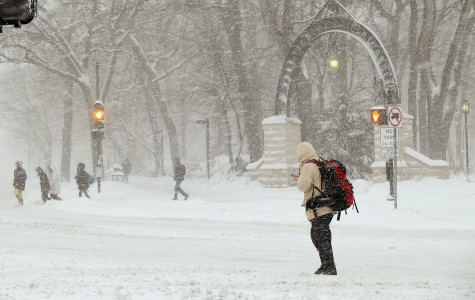 Evanston declares snow emergency, Northwestern to remain open Monday