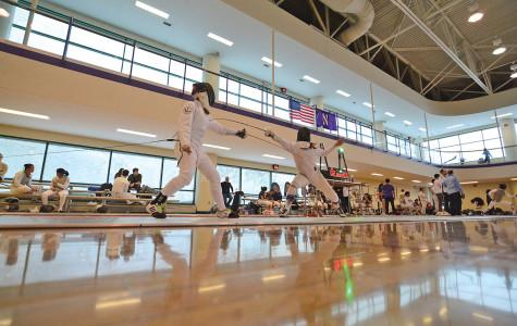 Fencing: Northwestern set for light load down South